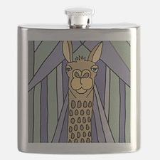 Unique Llamas Flask