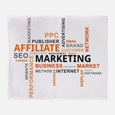 Cute Search engine optimization Throw Blanket
