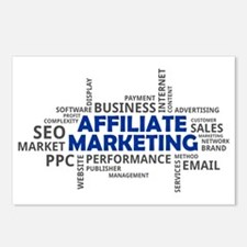 Cute Search engine optimization Postcards (Package of 8)