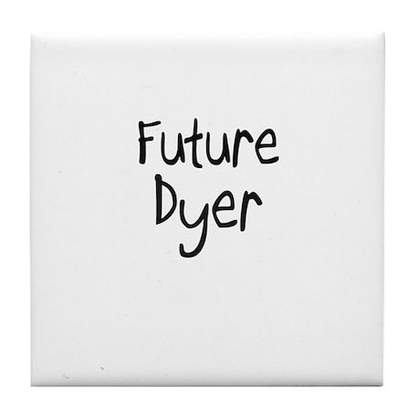 Future Dyer Tile Coaster