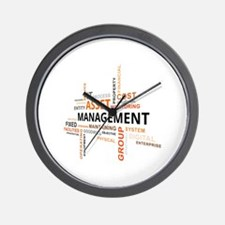 Unique Property management Wall Clock