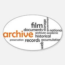 word cloud - archive Decal