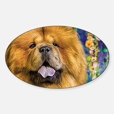 Chow Chow Painting Decal