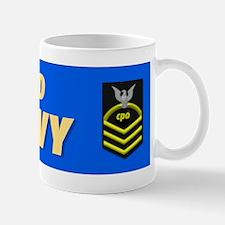 Retired Navy CPO Mug