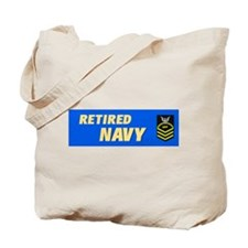 Retired Navy CPO Tote Bag