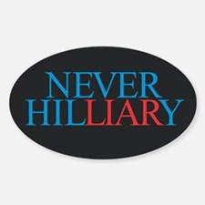 Never Hilliary Decal