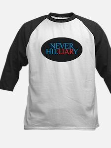 Never Hilliary Baseball Jersey