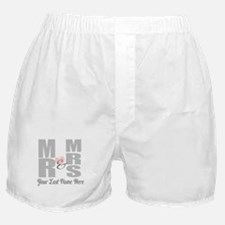 Mr and Mrs Love Boxer Shorts