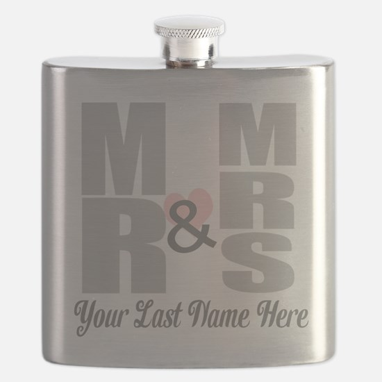 Mr and Mrs Love Flask
