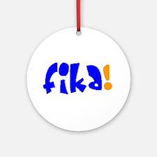 fika Round Ornament