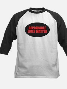 Deplorable Lives Matter Baseball Jersey