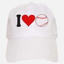 I Love Baseball (design) Baseball Baseball Cap