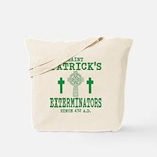 St. Patrick Exterminators Tote Bag