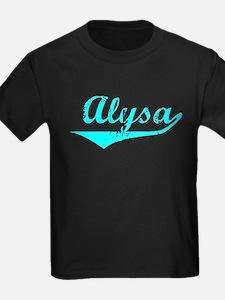 Alysa Vintage (Lt Bl) T