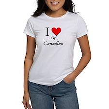 I Love My Canadian Tee