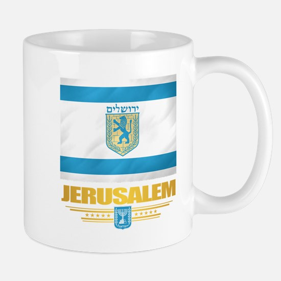 Jerusalem Flag Mugs