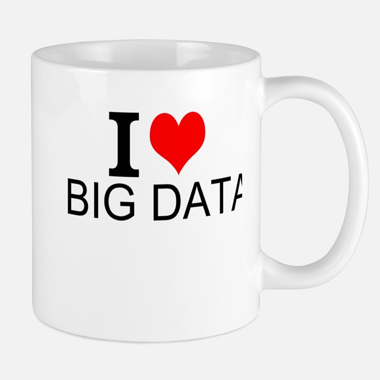 I Love Big Data Mugs