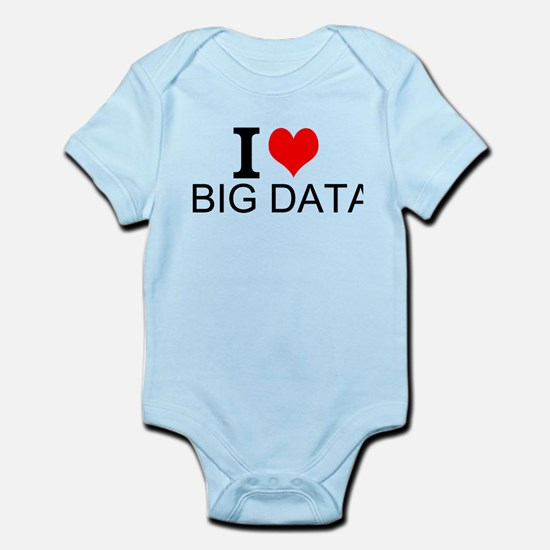 I Love Big Data Body Suit