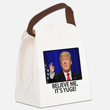 Cute Small Canvas Lunch Bag