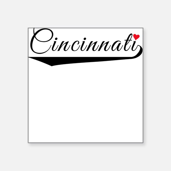 Cincinnati Heart Logo Sticker