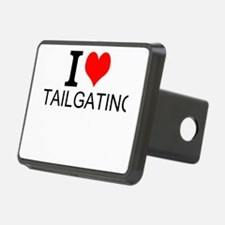 I Love Tailgating Hitch Cover