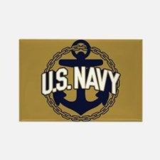 U.S. Navy Anchor Rectangle Magnet