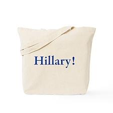 Hillary! Tote Bag