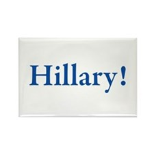 Hillary! Rectangle Magnet