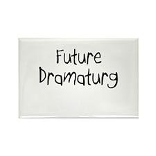 Future Dramaturg Rectangle Magnet