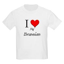 I Love My Bruneian T-Shirt