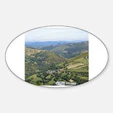 Galician Valley View Decal