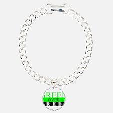 Green Over Greed Bracelet