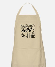 To Thing Own Self Be True Apron