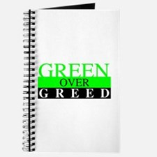 Green Over Greed Journal