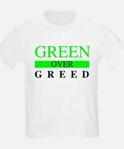Green over Greed T-Shirt