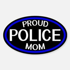 Police: Proud Mom (The Thin Blue Li Decal