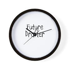 Future Drafter Wall Clock