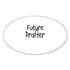 Future Drafter Oval Decal