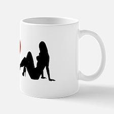 I Love Strippers (design) Mug