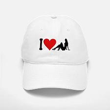 I Love Strippers (design) Baseball Baseball Cap