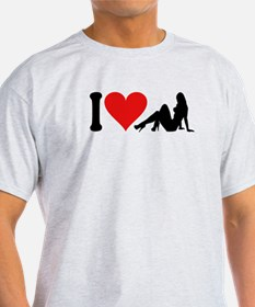 I Love Strippers (design) T-Shirt