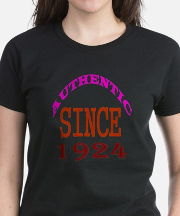 Authentic Since 1924 Birthday Tee