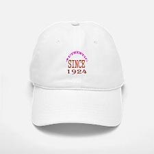 Authentic Since 1924 Birthday Designs Baseball Baseball Cap