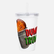 DUMP TRUMP Acrylic Double-wall Tumbler