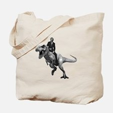Cute Dinosaur humor Tote Bag