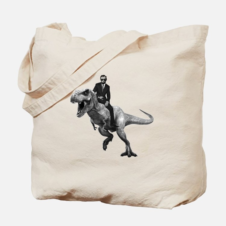 Cute Abe lincoln Tote Bag