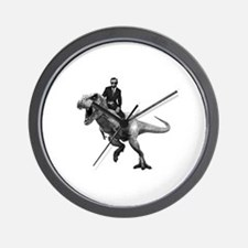 Funny Lincoln Wall Clock