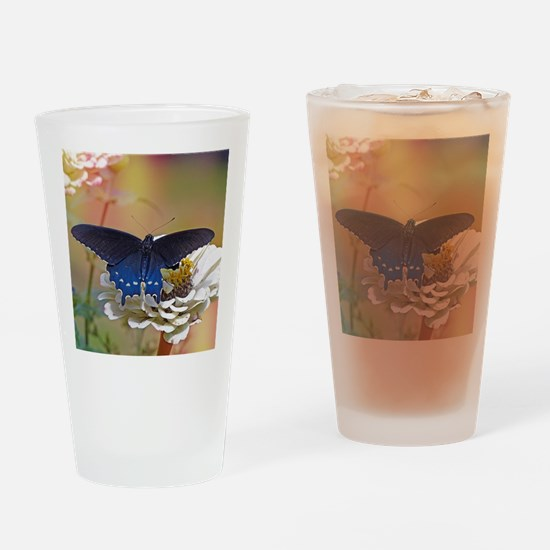 Spicebush Swallowtail Drinking Glass