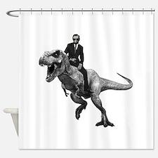 Dino Abe Shower Curtain