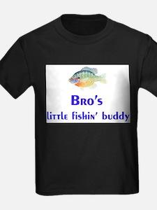 bro's fishin' buddy T-Shirt